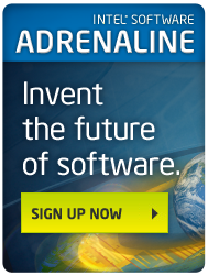 Intel Software Adrenaline: Sign up now to invent the future of software!